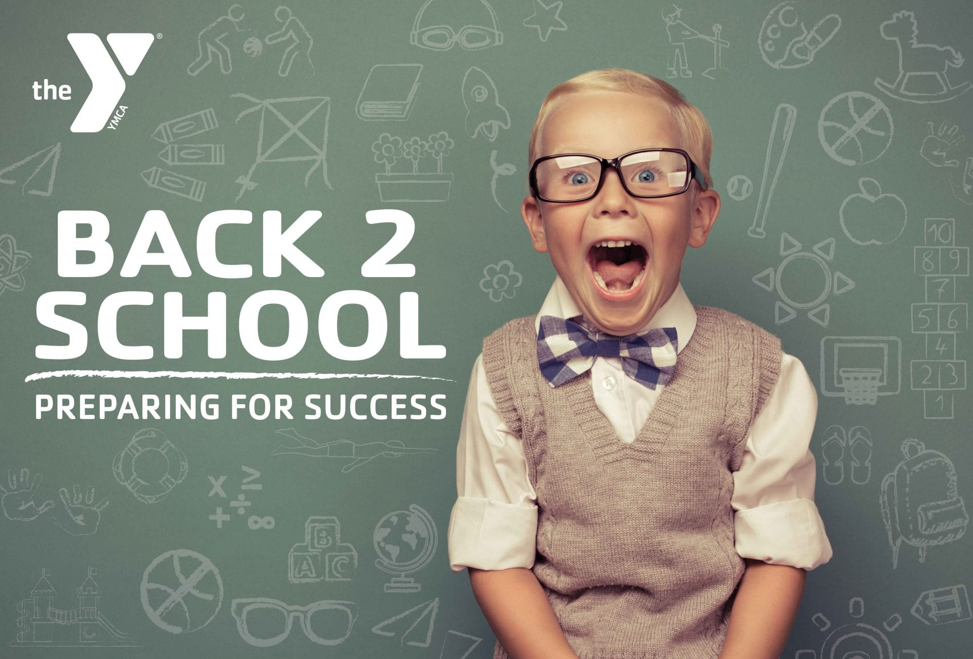 Back 2 School webpage header