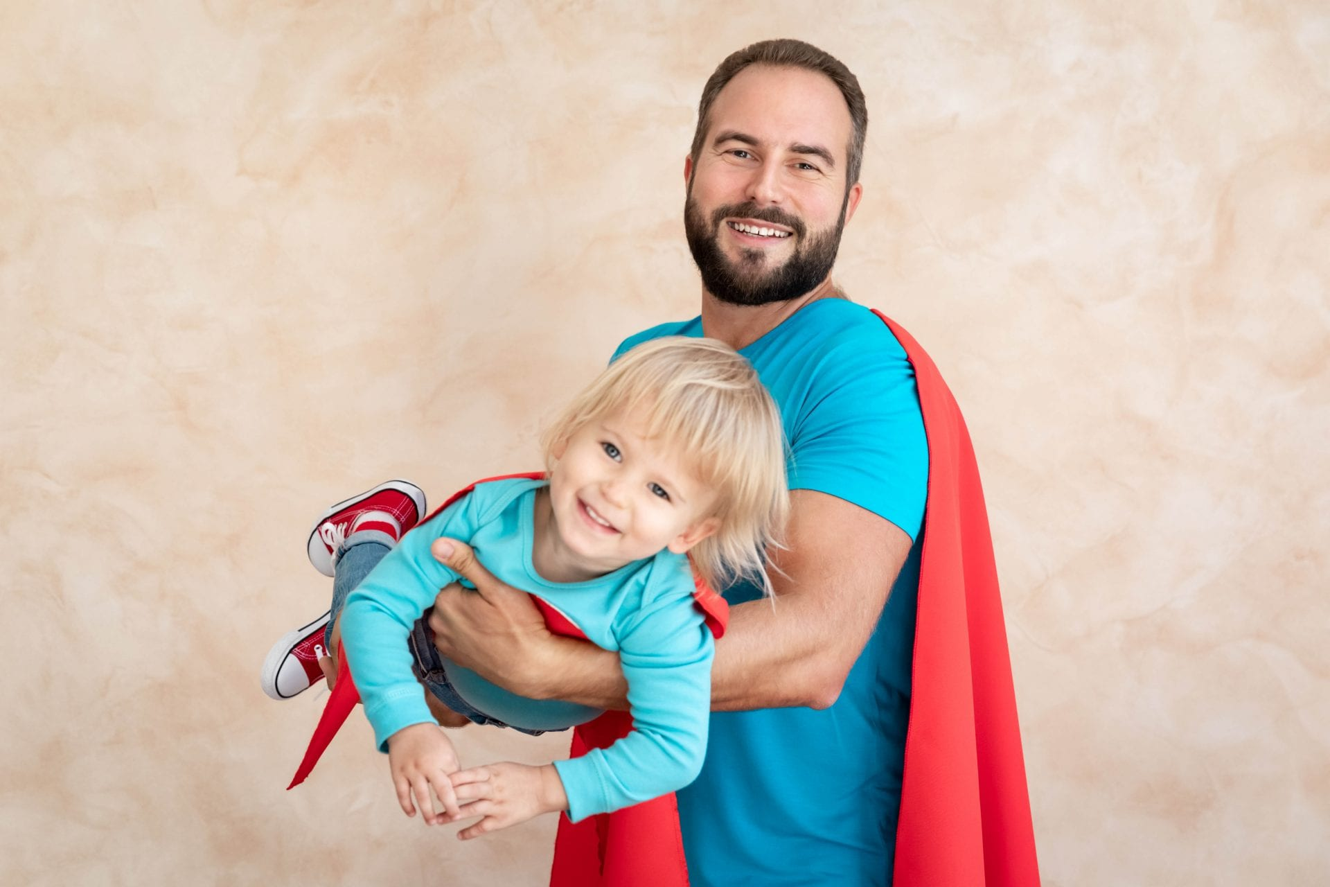Kid & Dad | Superhero | YMCA