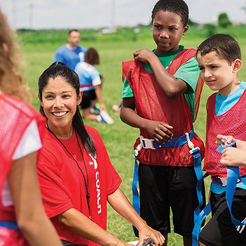 Flag Football | Youth | Sports | Programs & Activities | Valley of the Sun YMCA