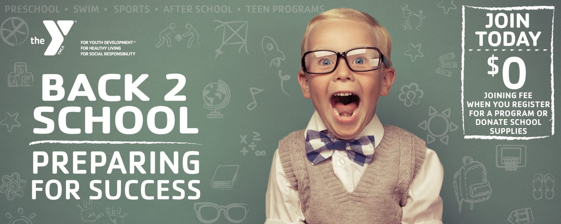 Back To School - Join Today - $0 Joining Fee
