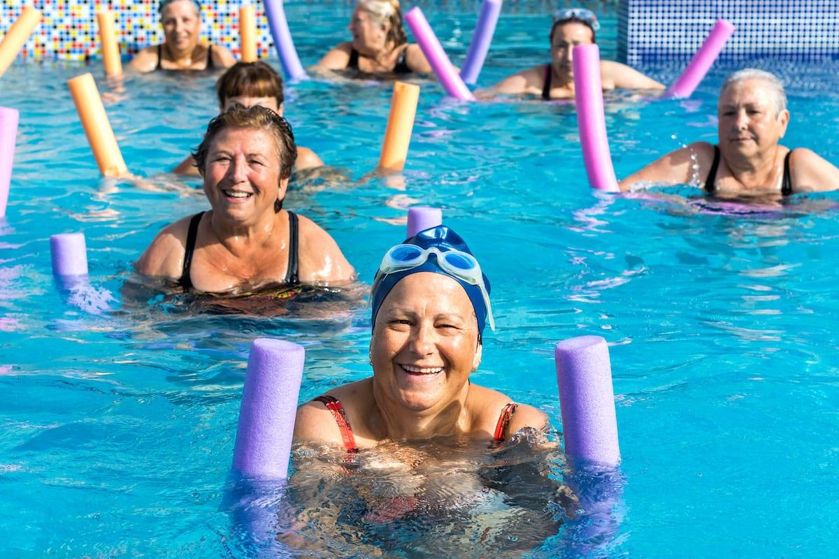 senior water fitness