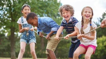 Summer Day Camp - Kids Tug O War