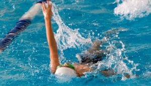 Website Image Left column Format swim team
