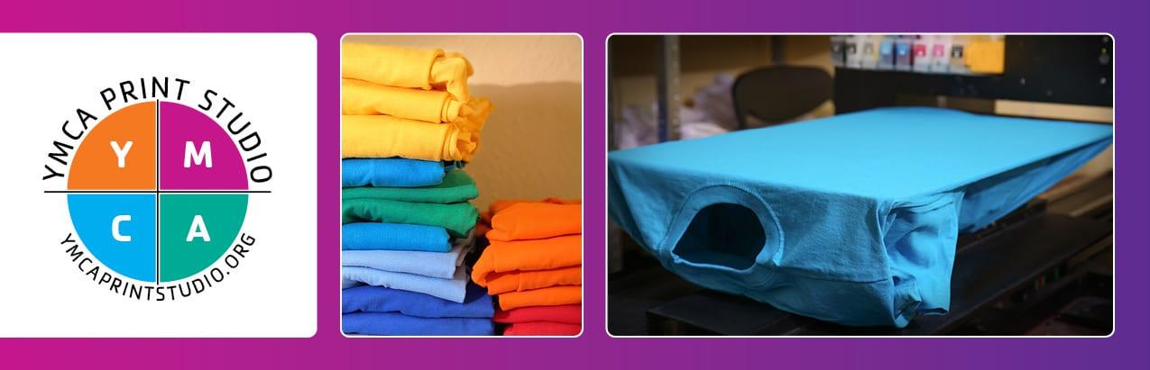 YMCA Print Studio Webpage header