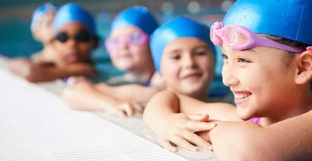 5 kids swim lessons