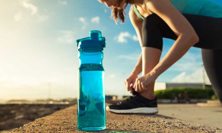 exercise - drink water - healthy tips