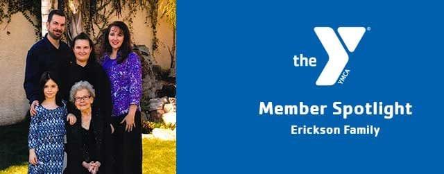 Erickson Family | Member Spotlight | Copper Basin Family YMCA