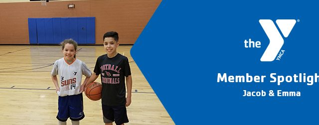 Jacob and Emma | Member Spotlight | Glendale / Peoria Family YMCA