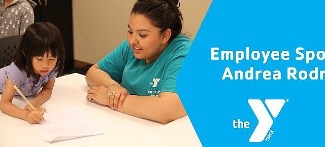 Andrea Rodriguez employee spotlight northwest valley family ymca