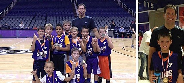 Ahwatukee YMCA – Team Huskies & Coach Mike Trilli Clinch the D1 3rd/4th Grade Jr. Suns Title! | Ahwatukee Foothills Branch | Valley of the Sun YMCA