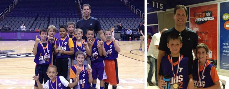Ahwatukee YMCA – Team Huskies & Coach Mike Trilli Clinch the D1 3rd/4th Grade Jr. Suns Title!   Ahwatukee Foothills Branch   Valley of the Sun YMCA
