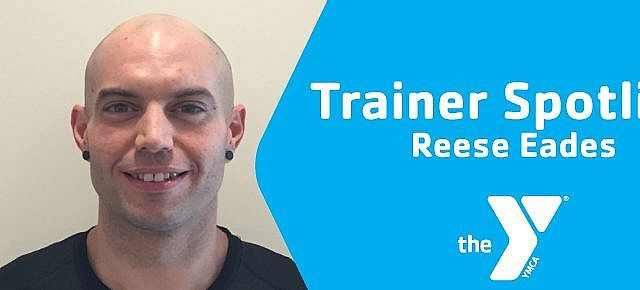 Reese Eades trainer spotlight lincoln family ymca